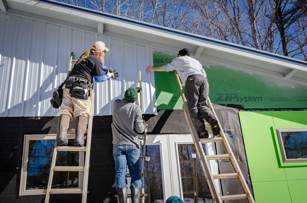 Byggföretag hjälper till med både stort och smått