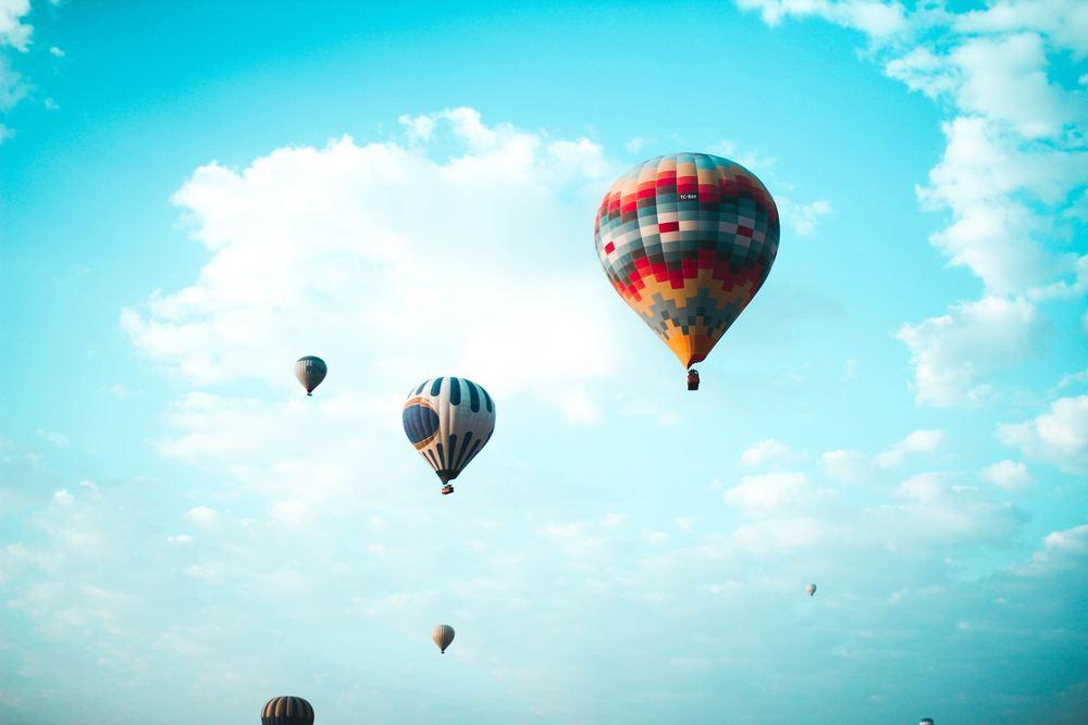 Ballongflygning i Stockholm